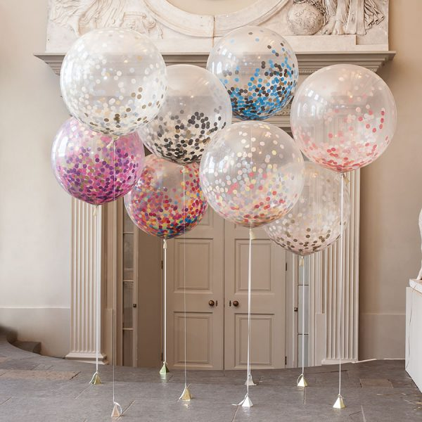 3ft giant confetti balloons dublin