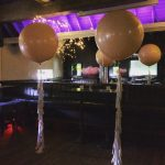 giant helium wedding balloons with tassel tails