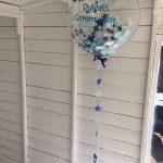 blue star christening and communion balloons dublin