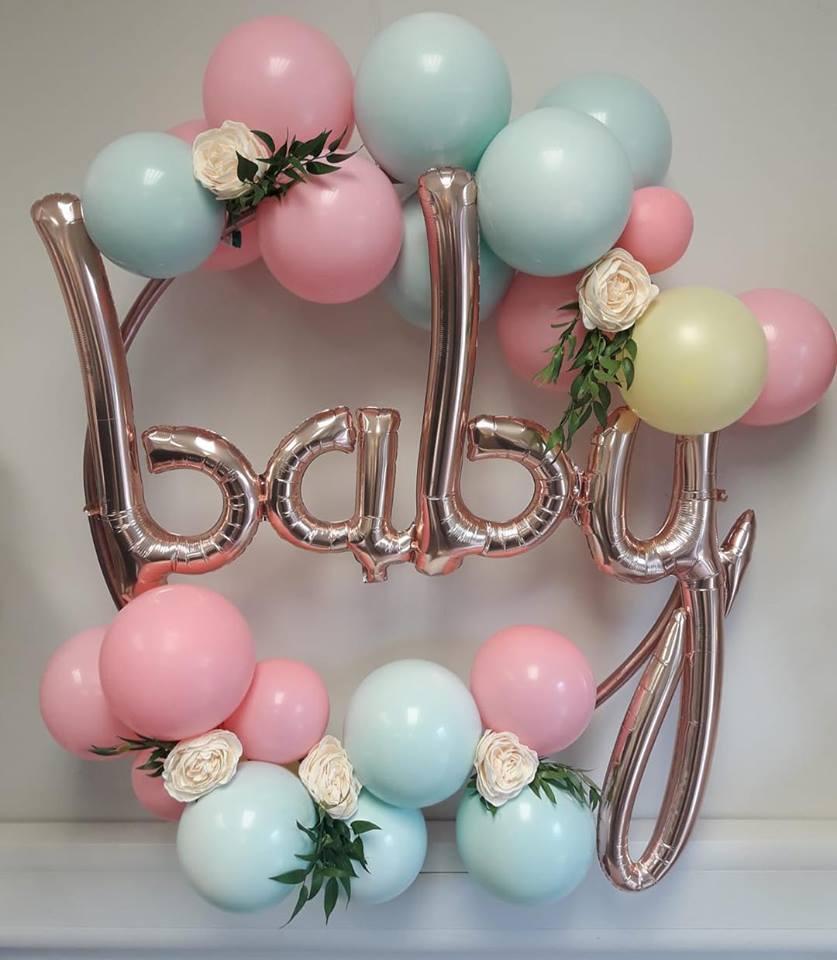 baby balloon hoop