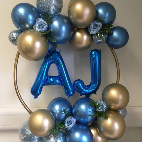 balloon hoop with aj balloon insert