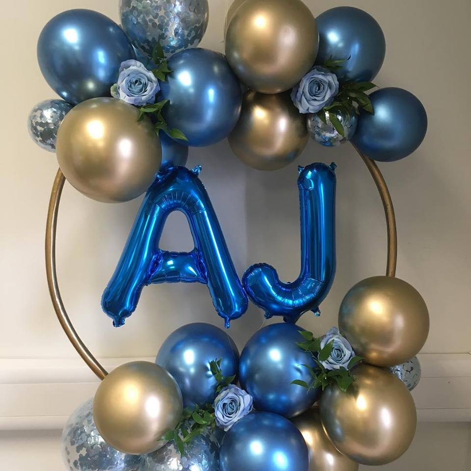balloon hoop with aj balloon insert