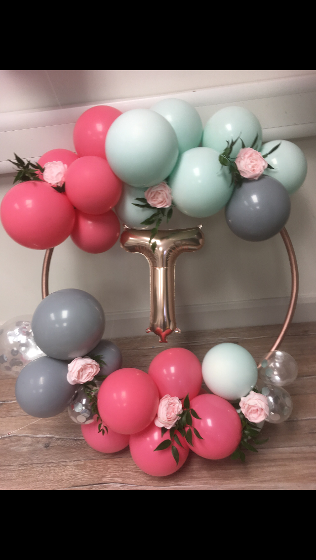 balloon hoop with t balloon insert