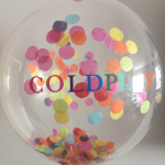 coldplay corporate confetti