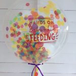 "24"" Confetti Bubble Balloon"