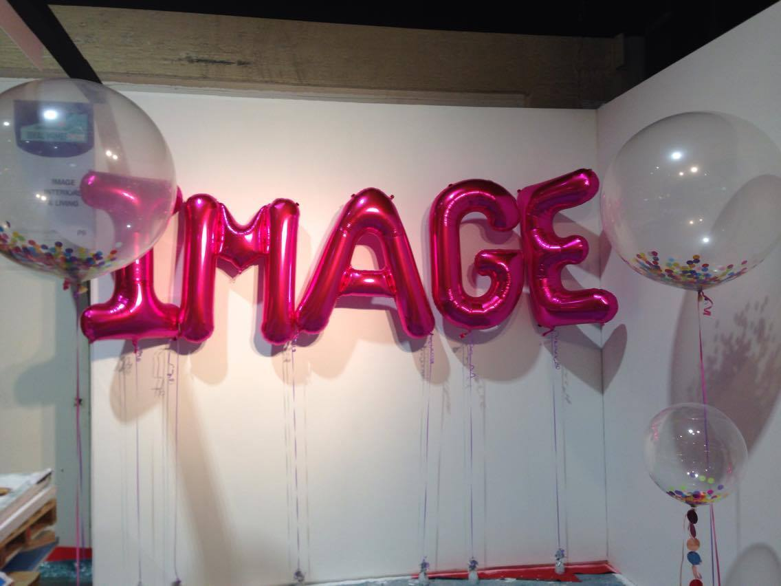 big balloon letters 34 quot balloon letters confetti balloons 20604 | Image big letters