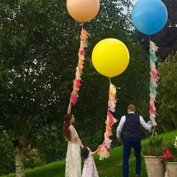 3ft tassel tail balloons