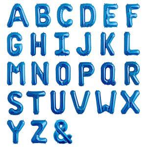 giant sapphire blue balloon letters 34 inch dublin