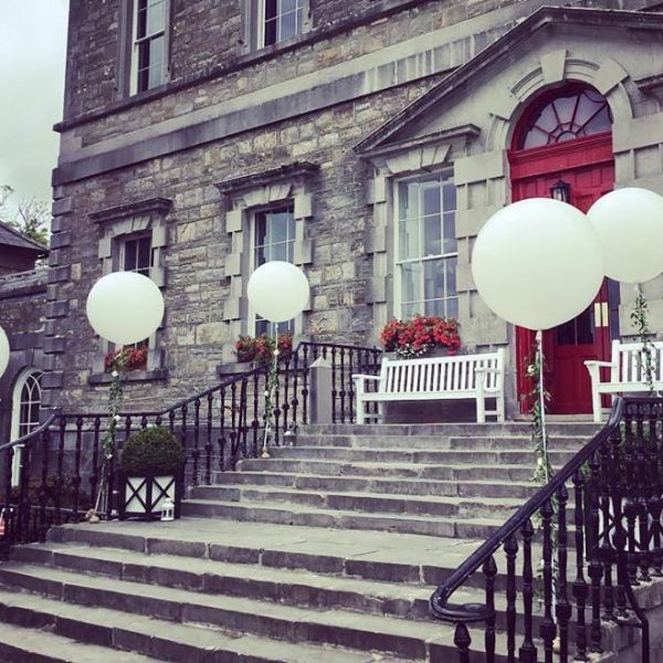 3ft white giant wedding balloons