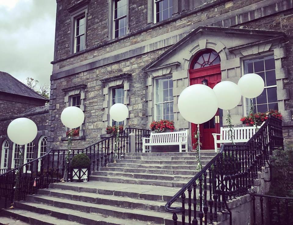 3ft white giant wedding balloons
