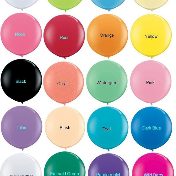 Giant Balloons Colour Card