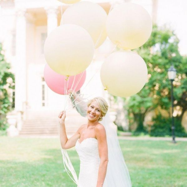 3ft coloured balloons