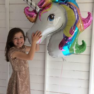 giant unicorn balloon
