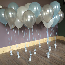 "bunces of 3 11"" balloons"