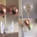 christening balloons dublin