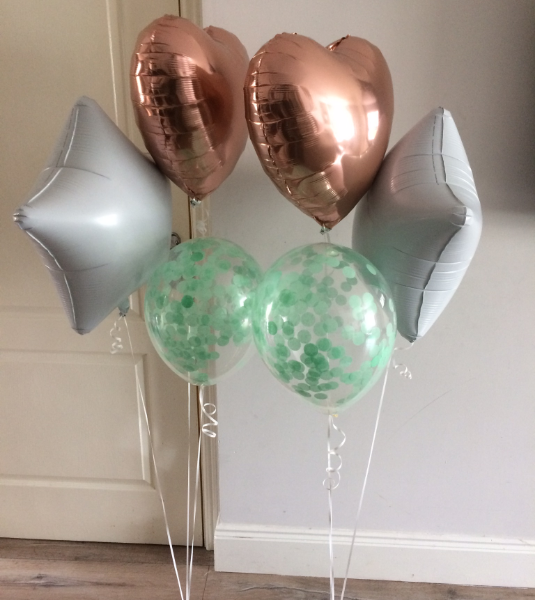Foil Balloon Bunches