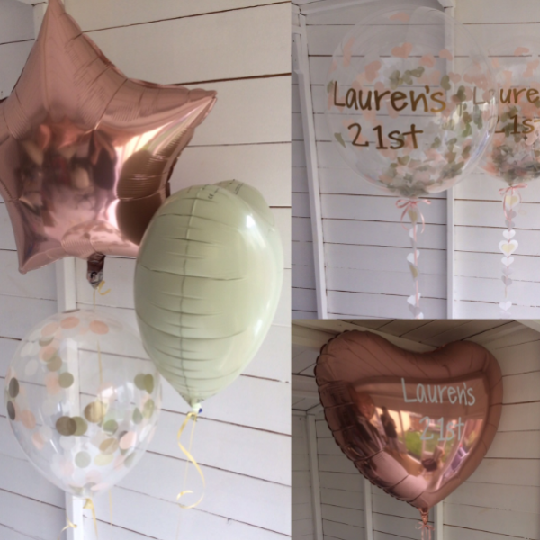 21st birthday balloon package