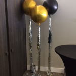 "16"" Orbz Foil Helium Balloons Bunches with tails"