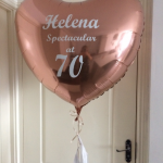 giant heart helium birthday balloon