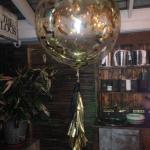 gold wedding giant balloons