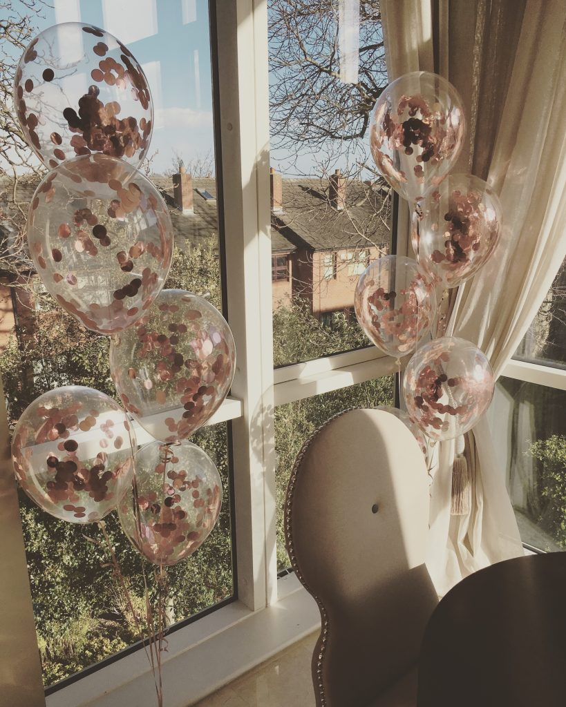 Confetti Balloon Bunches
