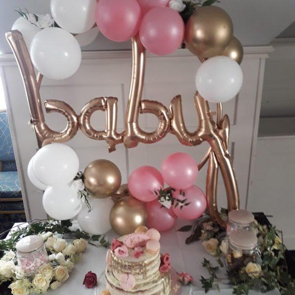 balloon hoop clusters baby