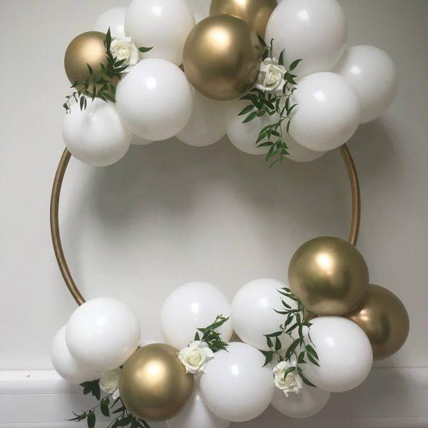 balloon hoop clusters clear