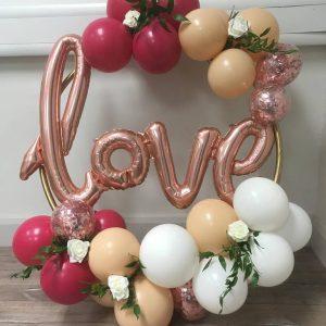 Balloon Hoop Clusters