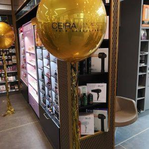 jumbo gold orbz balloon