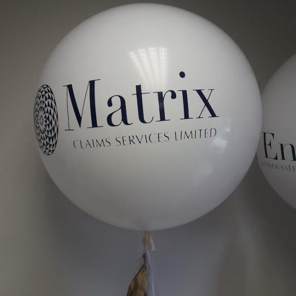 giant balloon with company logo 3
