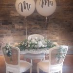 mr and mrs 3ft balloons