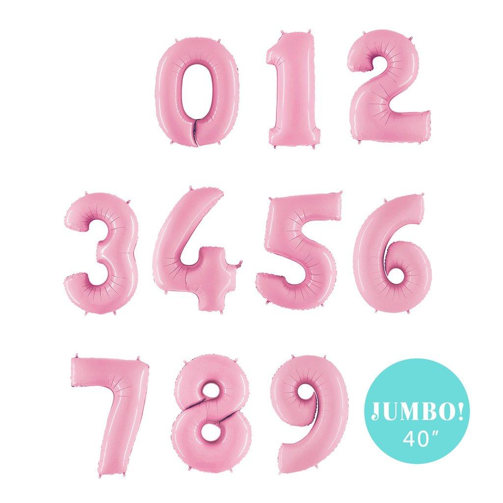 40″ Jumbo Balloon Numbers