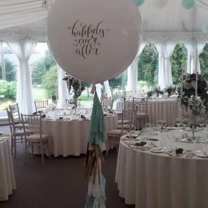 happily ever after giant wedding balloon