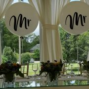 mr and mrs giant wedding balloon