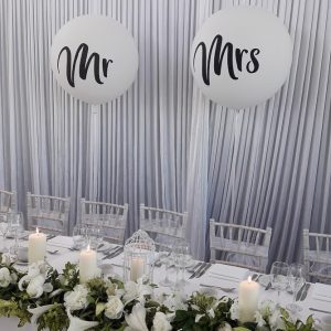 3ft mr and mrs balloons
