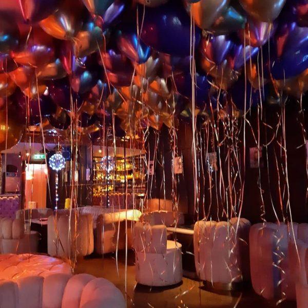 balloon ceiling helium balloons