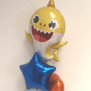 baby shark balloon bunch