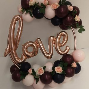 love balloon hoop