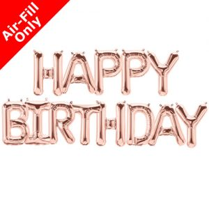 air filled balloon letters 16 inch