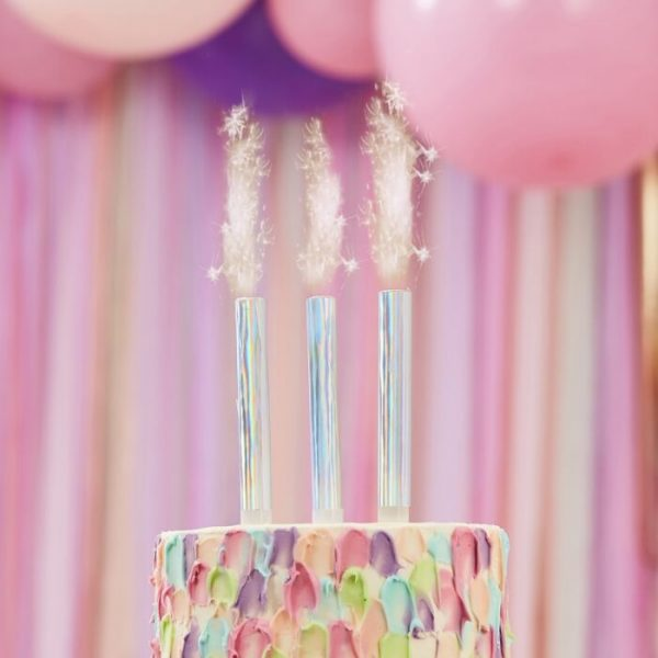 cake fountain candles
