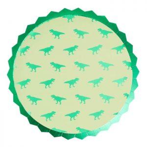 dinosaur paper plates cutout