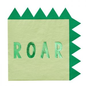 roar paper napkins close