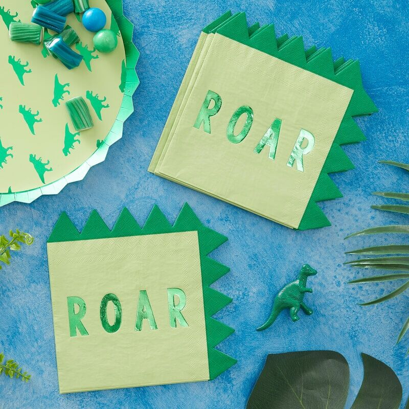roar paper napkins