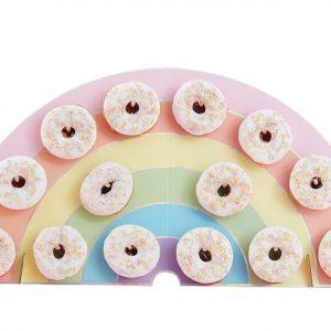 donut wall rainbow