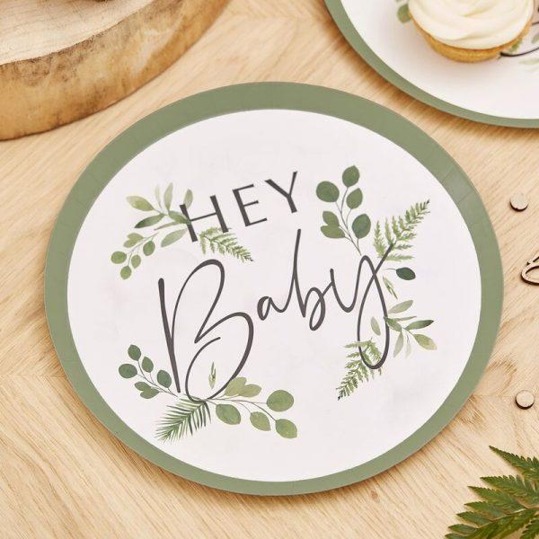 hey baby plates