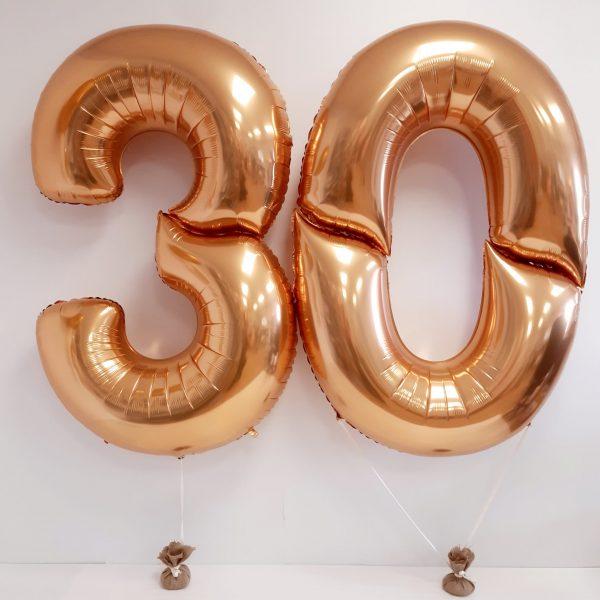 giant gold 30 balloons