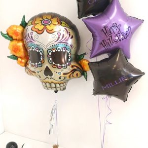 Day of the dead balloon package