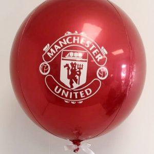 man united orb balloon
