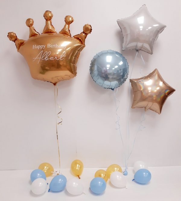 crown balloon package