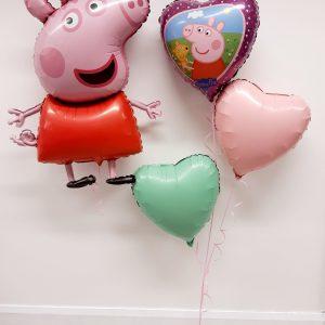 peppa pig balloon package